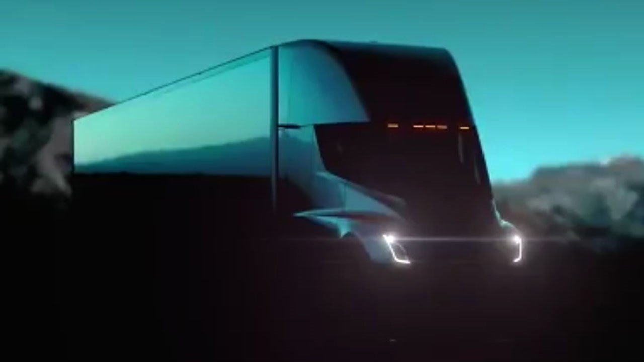 "Tesla's electric semi truck nicknamed ""The Beast"""