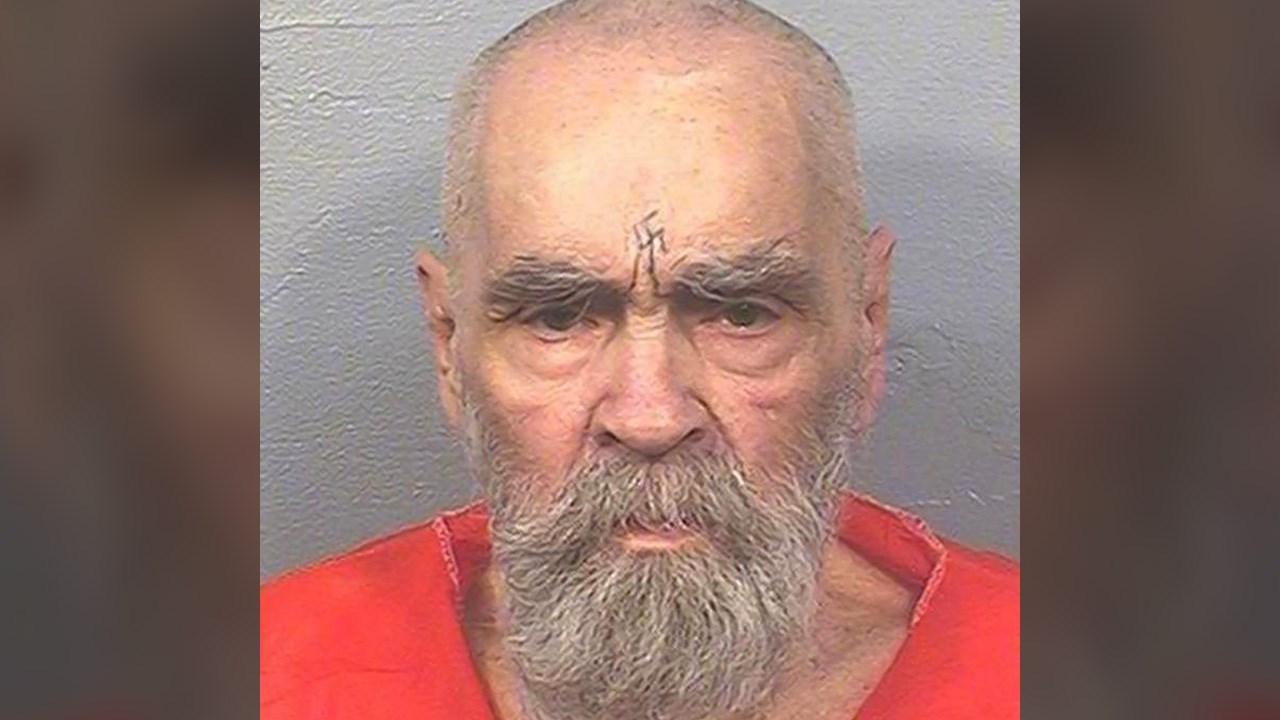2017 Mugshot of Charles Manson