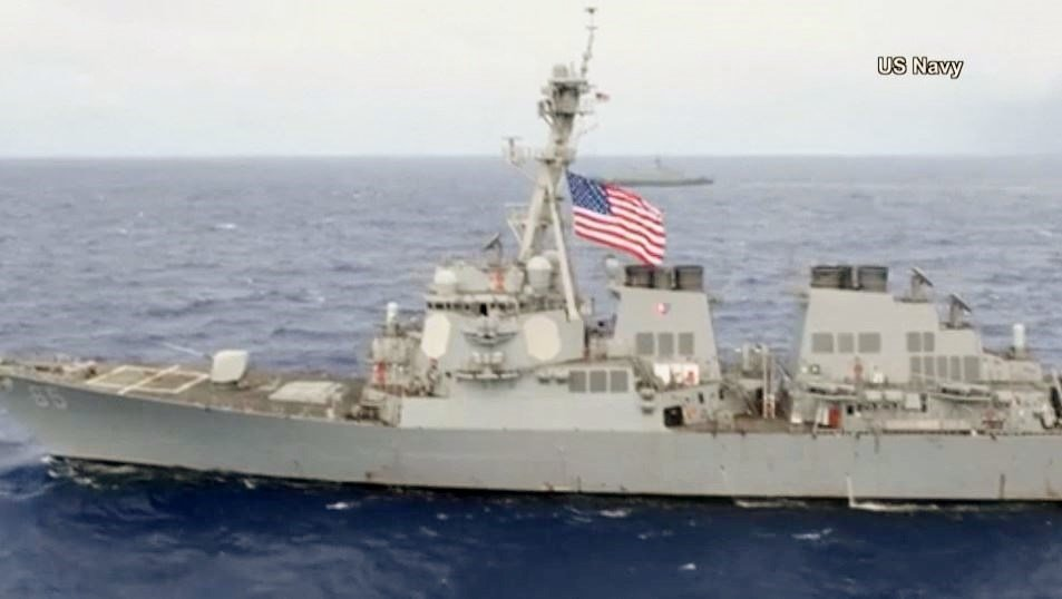Japanese Tug Loses Propulsion, Drifts into USS Benfold