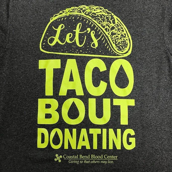 Those who donate will receive a free T-Shirt.