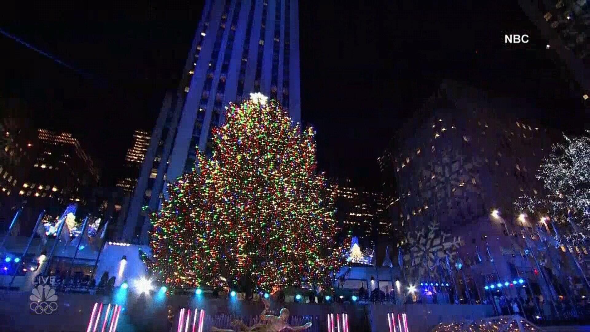 2017 Rockefeller Christmas Tree