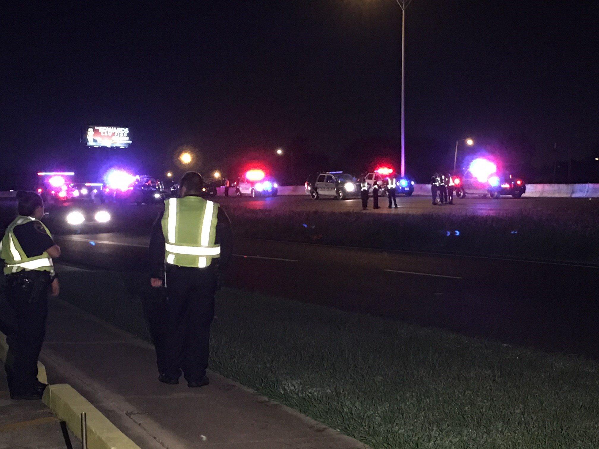 Fatal pedestrian crash on Crosstown between Port & Horne