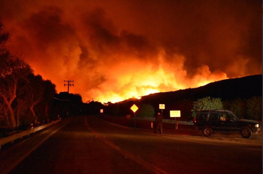 Photo: Ventura County Fire Department/Twitter