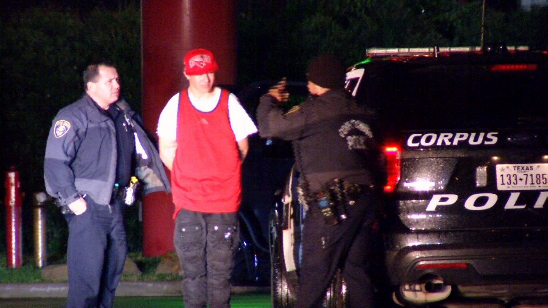 CCPD arrests an aggravated robbery suspect.