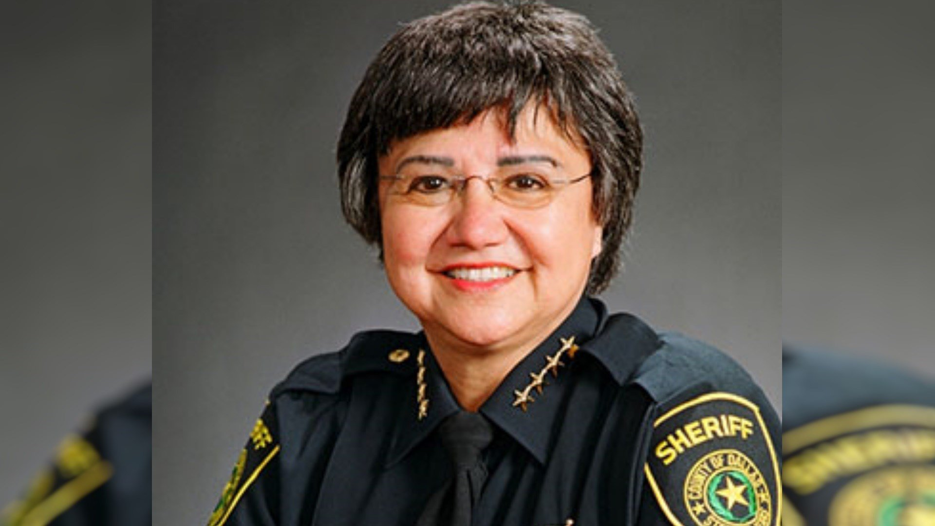 Dallas County Sheriff Lupe Valdez, a Democrat, is running for governor