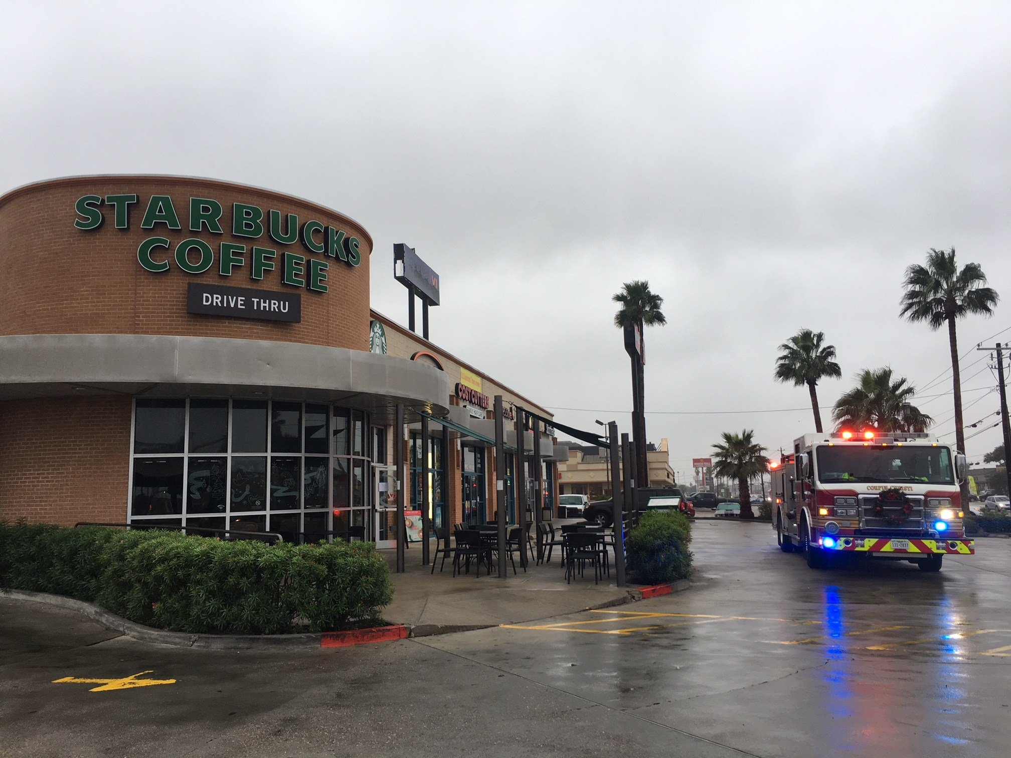 A malfunctioning air conditioning unit forced Starbucks to shut down its SPID location.