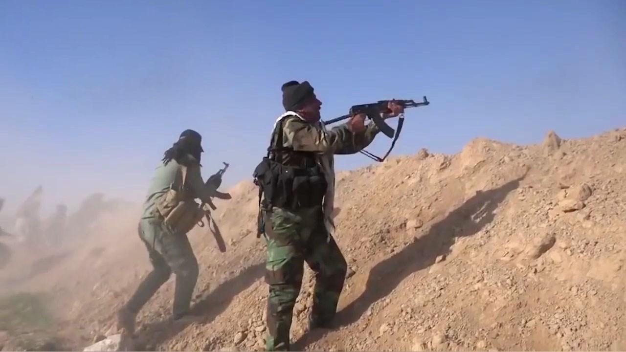 PHOTO: Iraqi Popular Mobilization Units (PMU) fighting ISIS fighters west of Mosul      PHOTO: Iraqi Popular Mobilization Units (PMU) fighting ISIS fighters west of Mosul  PHOTO: Iraqi Popular Mobilization Units (PMU) fighting ISIS fighters west of Mosu
