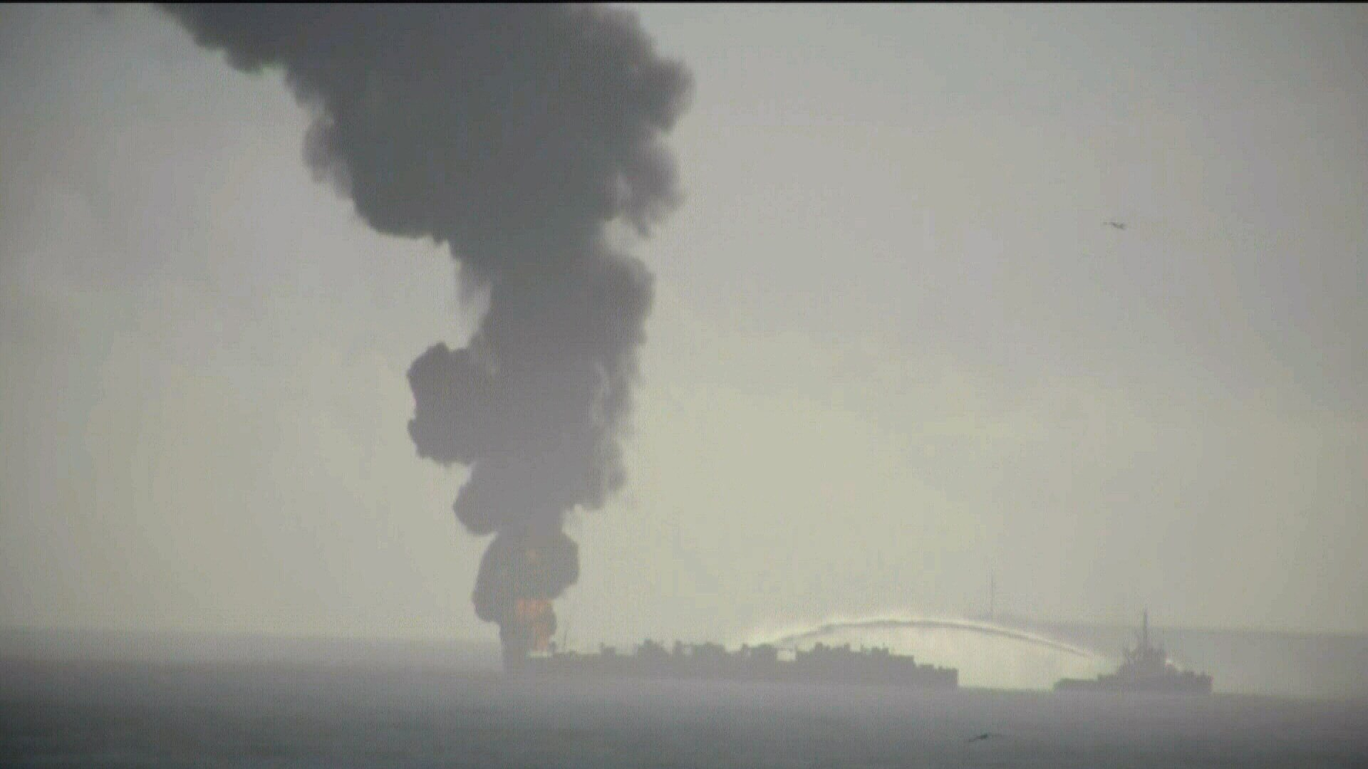 The Coast Guard and their Port partners discussed the response to October's barge explosion, including what went well and what could be improved.