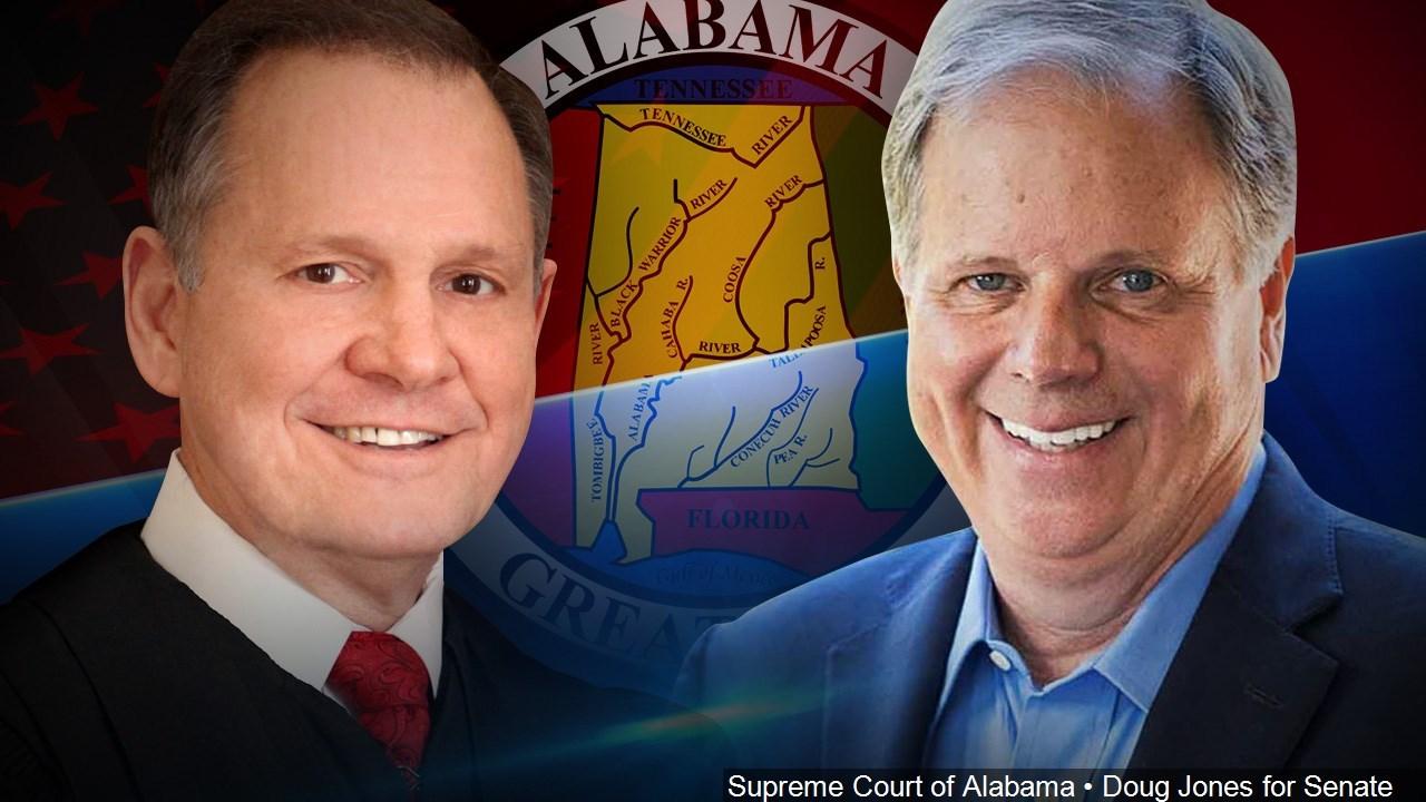 STILL UNTITLED: Alabama Election - Roy Moore (R) Doug Jones (D)