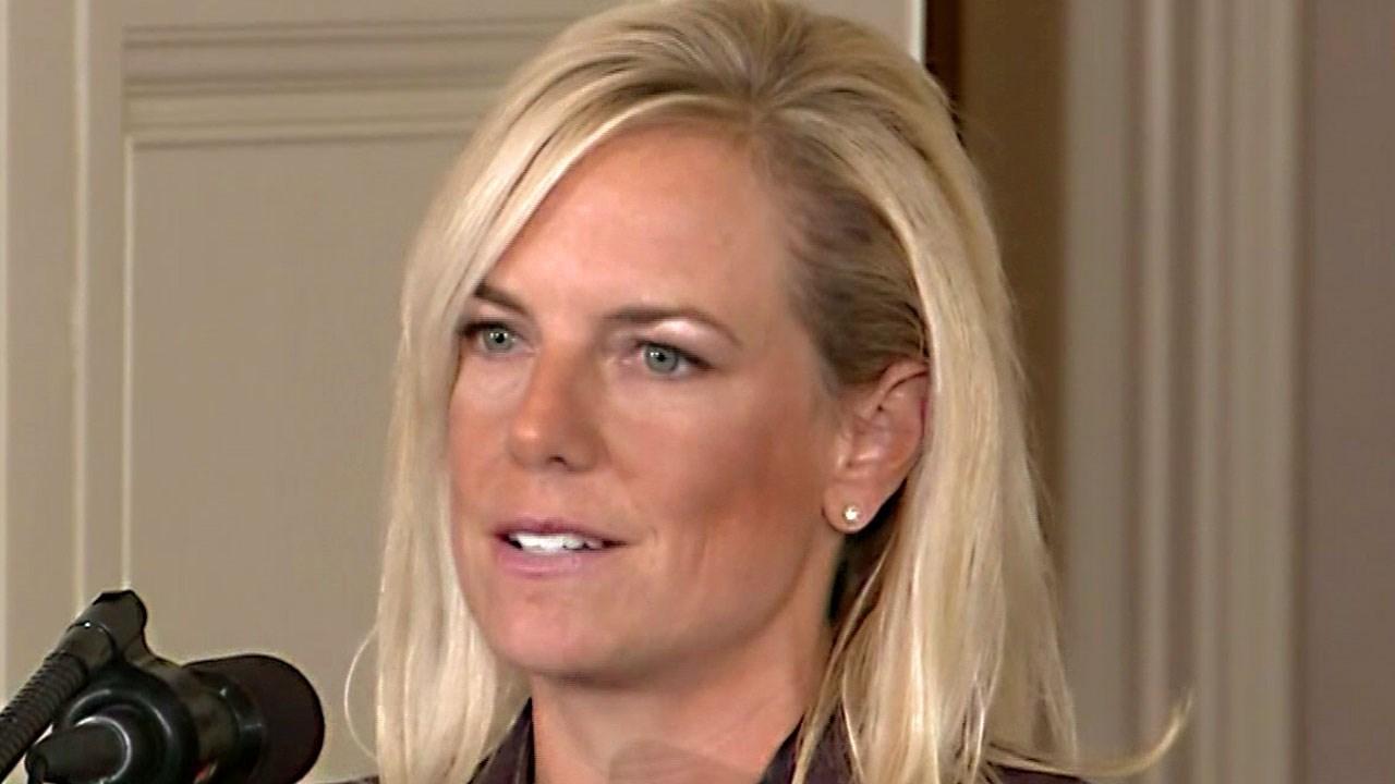 DHS Secretary Kristjen Nielsen. Photo: MSNBC