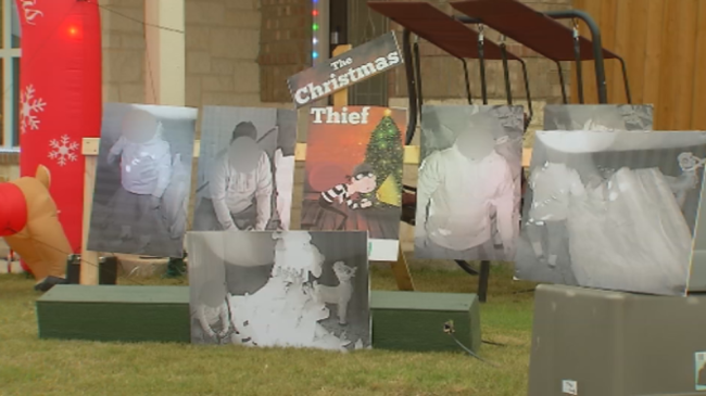Texas man publicly shames theft who stole his Christmas decorations