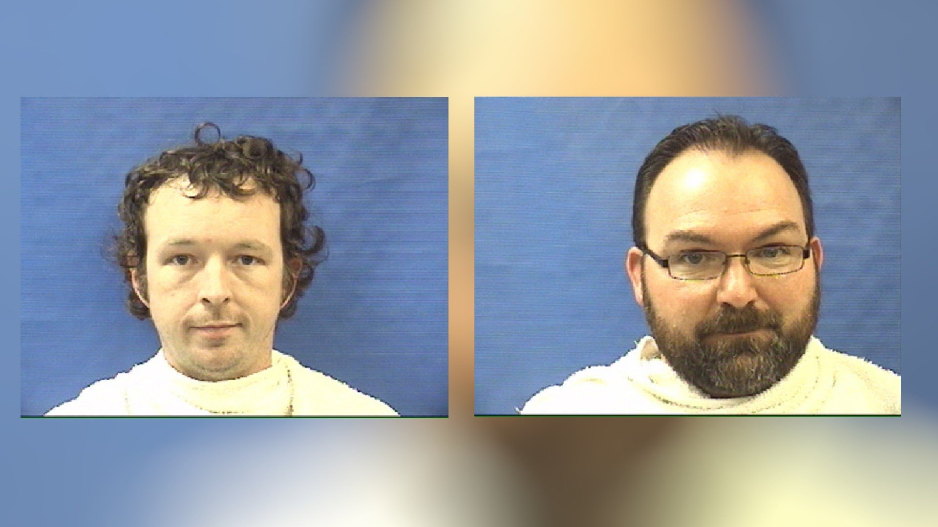 Photos: Shenandoah West Moneypenny, left and Shawn Dale Sanders, right. Kaufman County Sheriff's Office