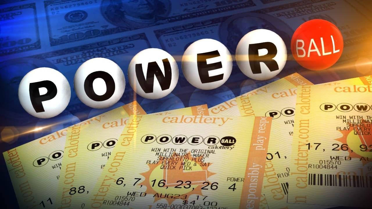 (Photo: Powerball Lottery ticket)