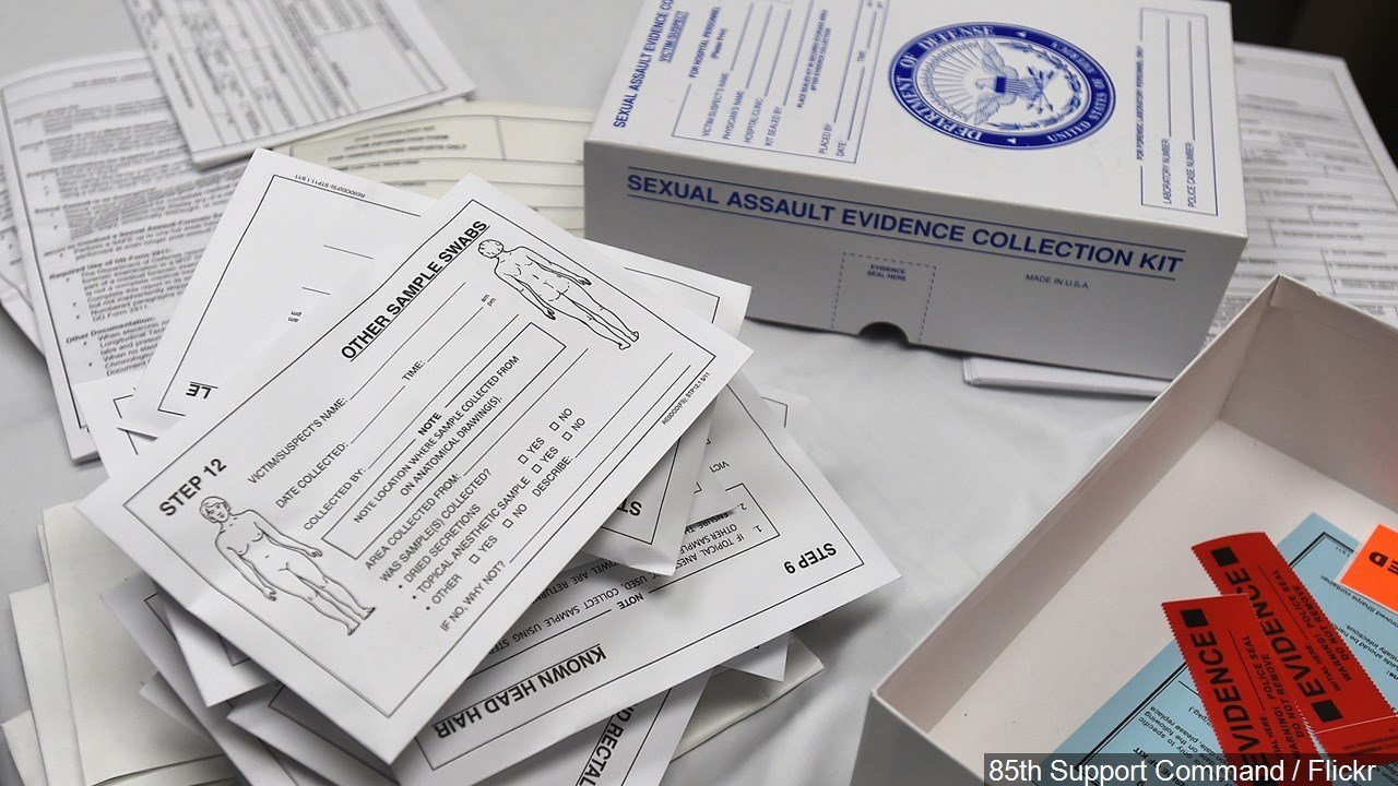 PHOTO: Sexual Assault Evidence Collection Kit, Photo Date: 10/24/14