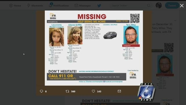 Amber Alert issued for two Texas children