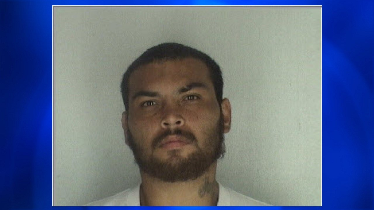 CCPD identified suspect Jesus Guerra, charging him with aggravated robbery. Photo: CCPD