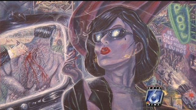 Artwork from Cheech Marin's private collection on display at Art Museum of South Texas