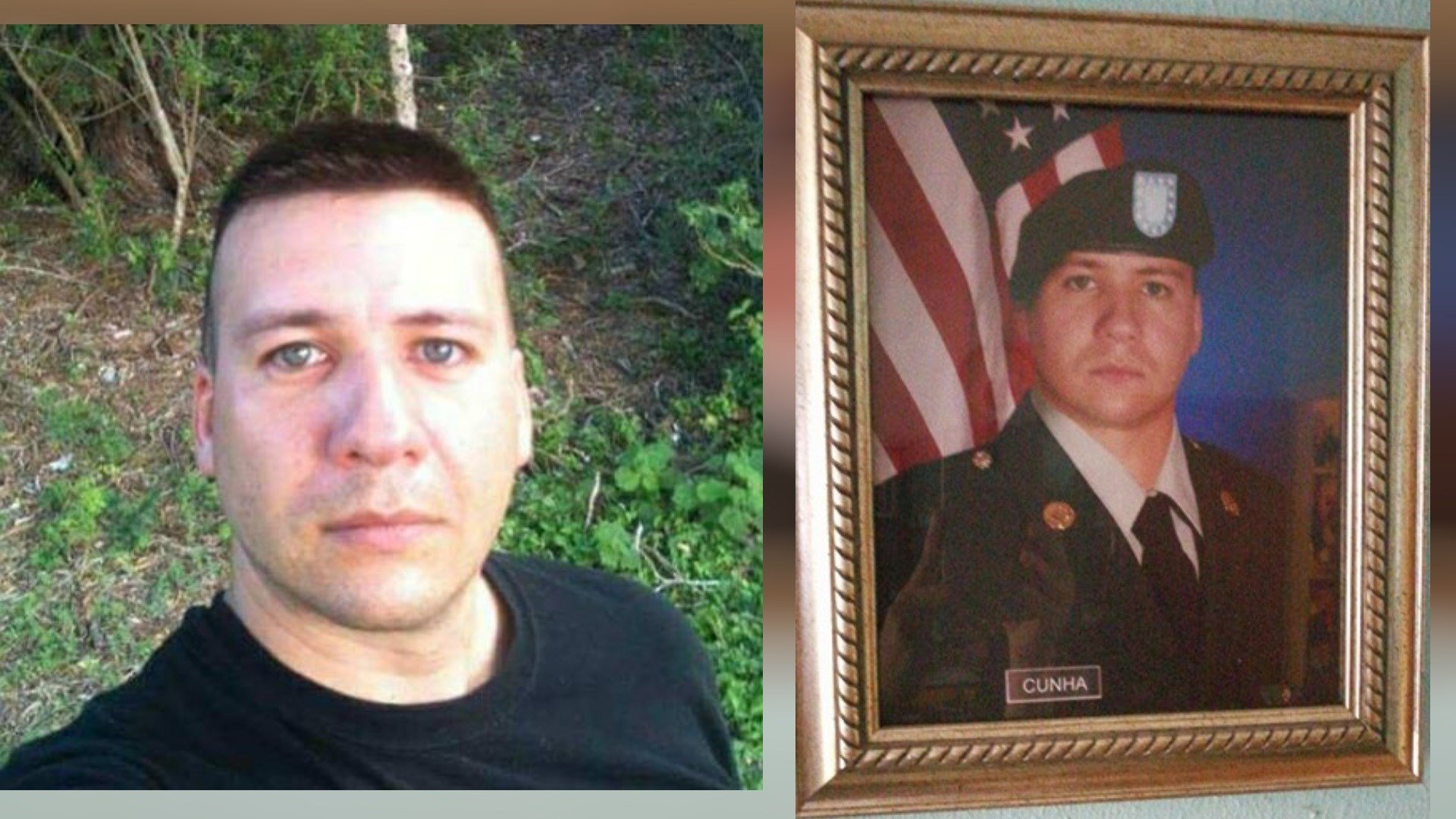 Joel Cunha was injured while serving in the military and went into training with the Army Reserves.