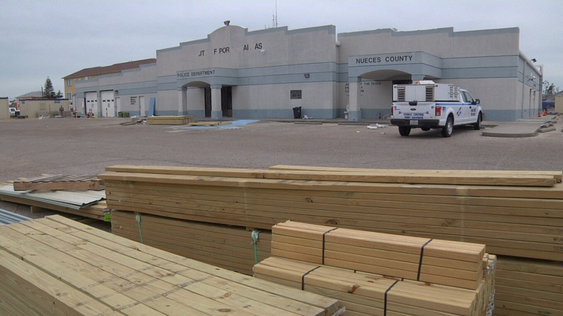 Port Aransas city leaders want to rebuild city structures at a higher elevation than FEMA requires.
