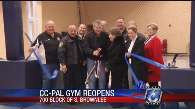 The CCPAL gym had been closed for about a year for remodeling, but officials say it'll be worth the wait.