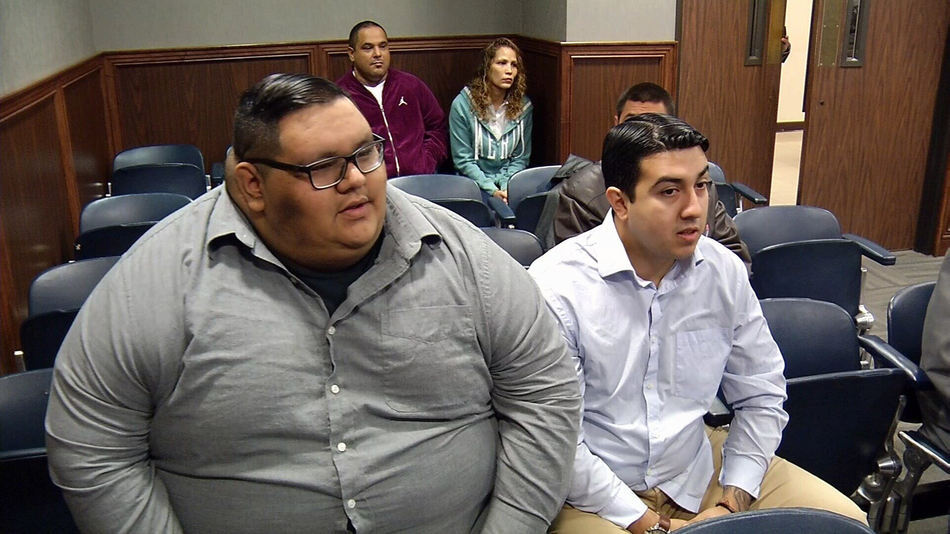 Raul Flores and Anthony Munoz are facing a charge of aggravated assault by a public servant.