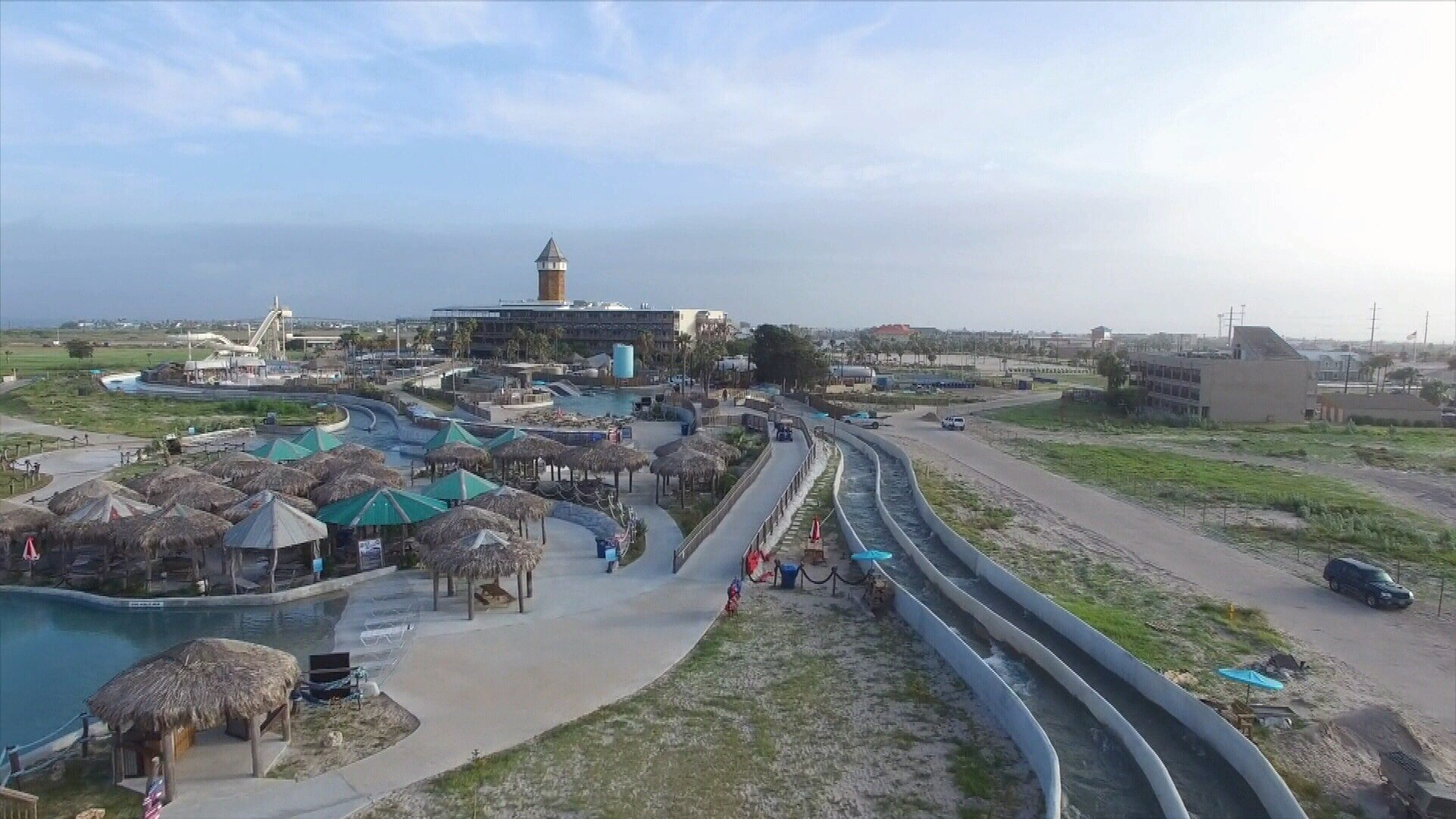 IBC executives say the bank delayed the auction, and is instead allowing a private commercial real estate company to market and try to sell the water park over the next two months.