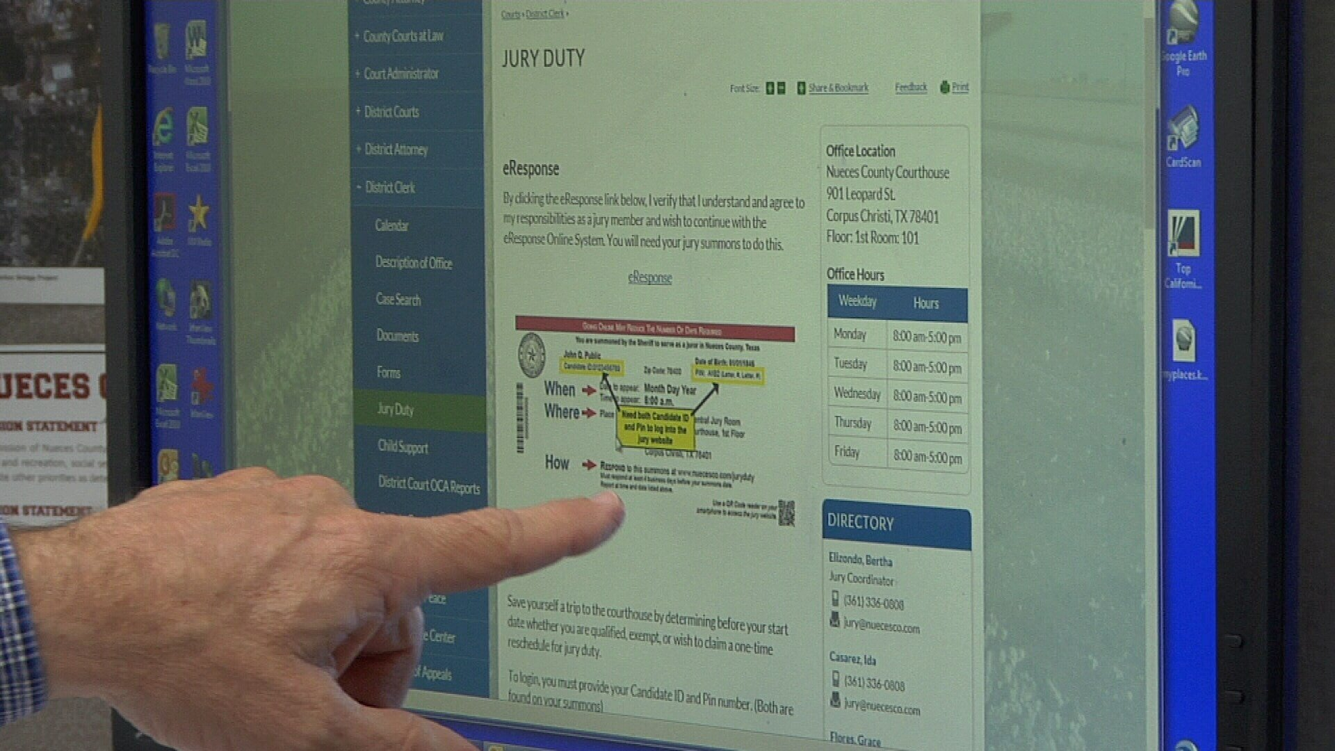 A new report show's the county's online jury selection system not only makes jury selection simpler, it also saves the county hundreds of thousands of dollars.