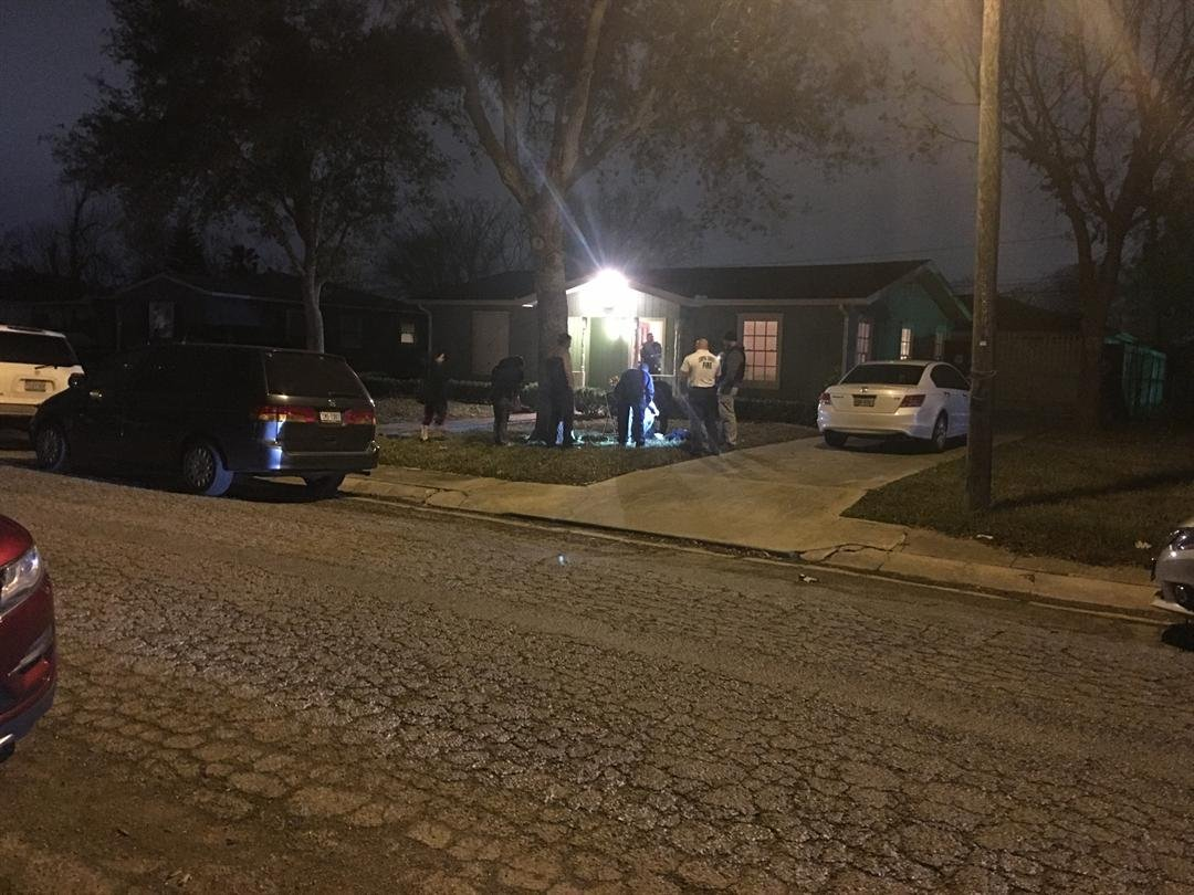 One member of a church group is dead and three others are injured after their prayer service last night turned into a horrific stabbing rampage.