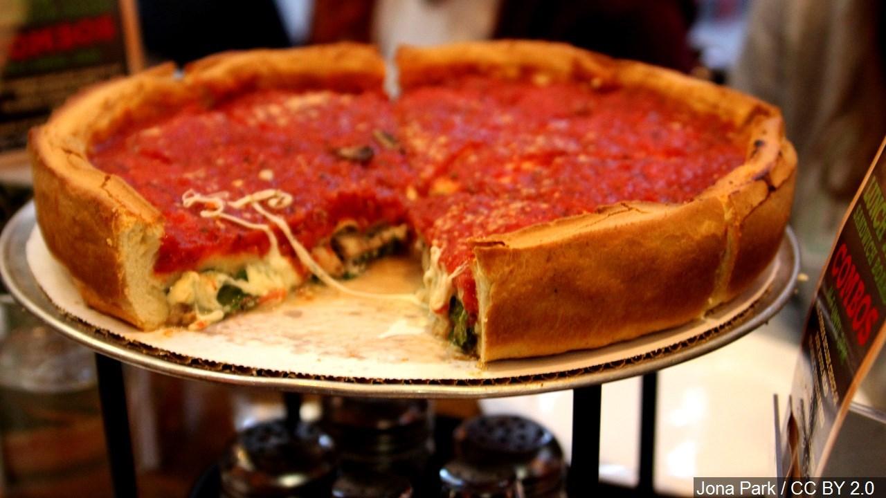 PHOTO: Giordano's Deep Dish Pizza