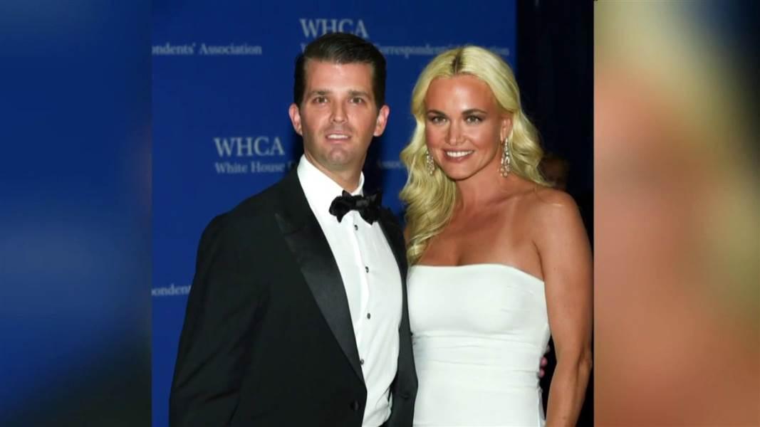 Donald Trump Jr and wife Vanessa Trump photo NBC News