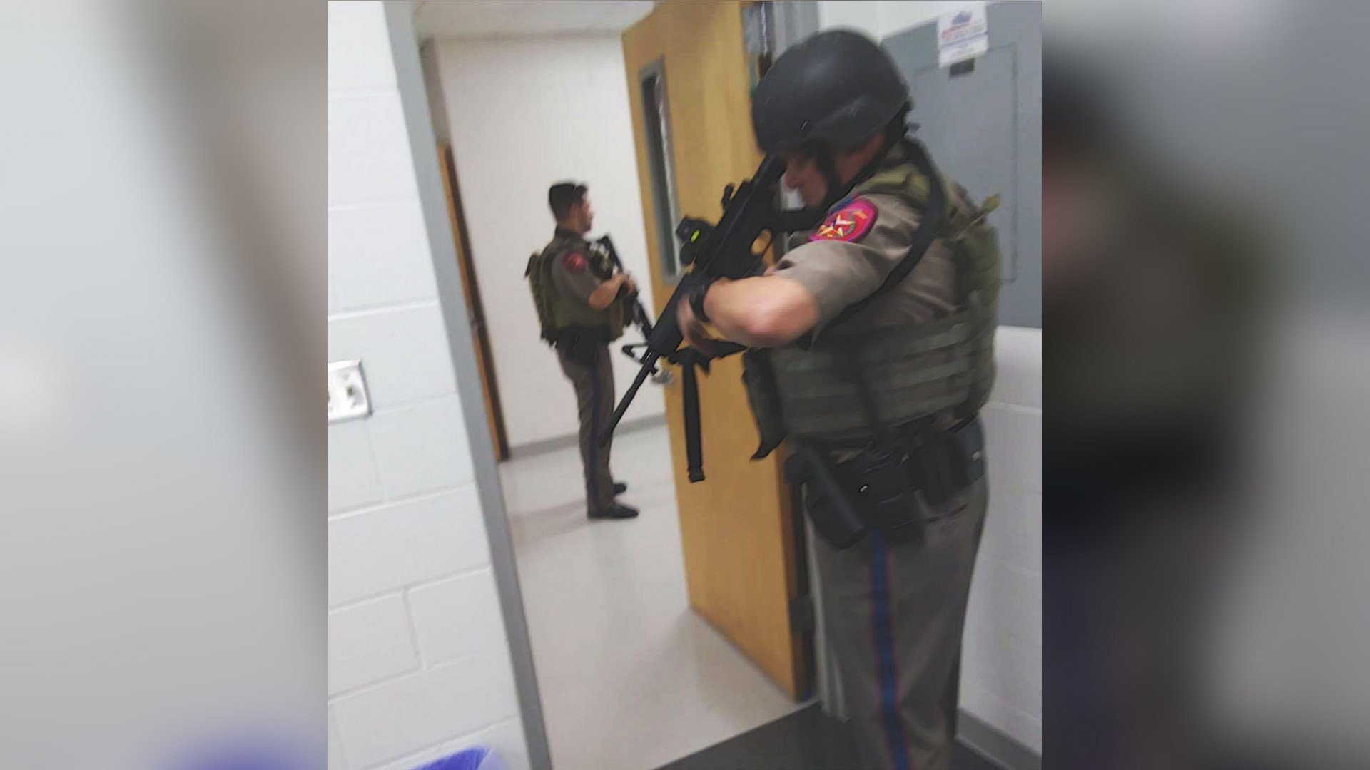 Local, county, and state law enforcement searched Robstown H.S. after rumors of a student with a gun caused the school to go into lockdown.