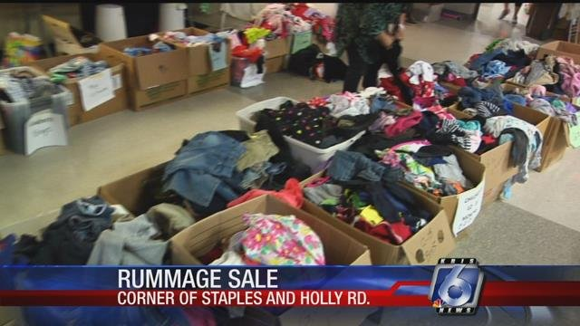 Clothes, electronics, books, furniture and more were on display at the annual Rummage Sale hosted by the Junior League of Corpus Christi.
