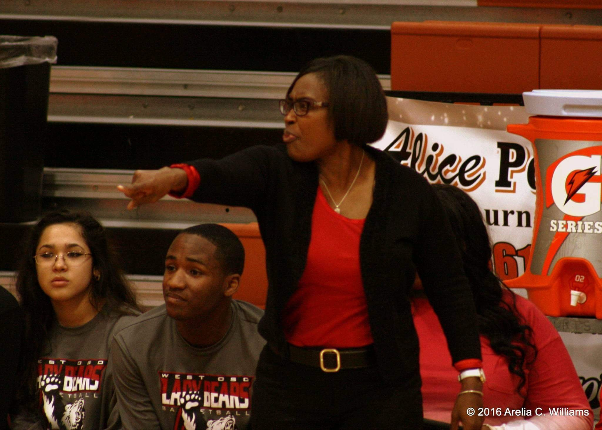 Cheryl Fillmore continues to serve as girls head basketball coach, as she serves in her first year as West Oso ISD's athletic director.