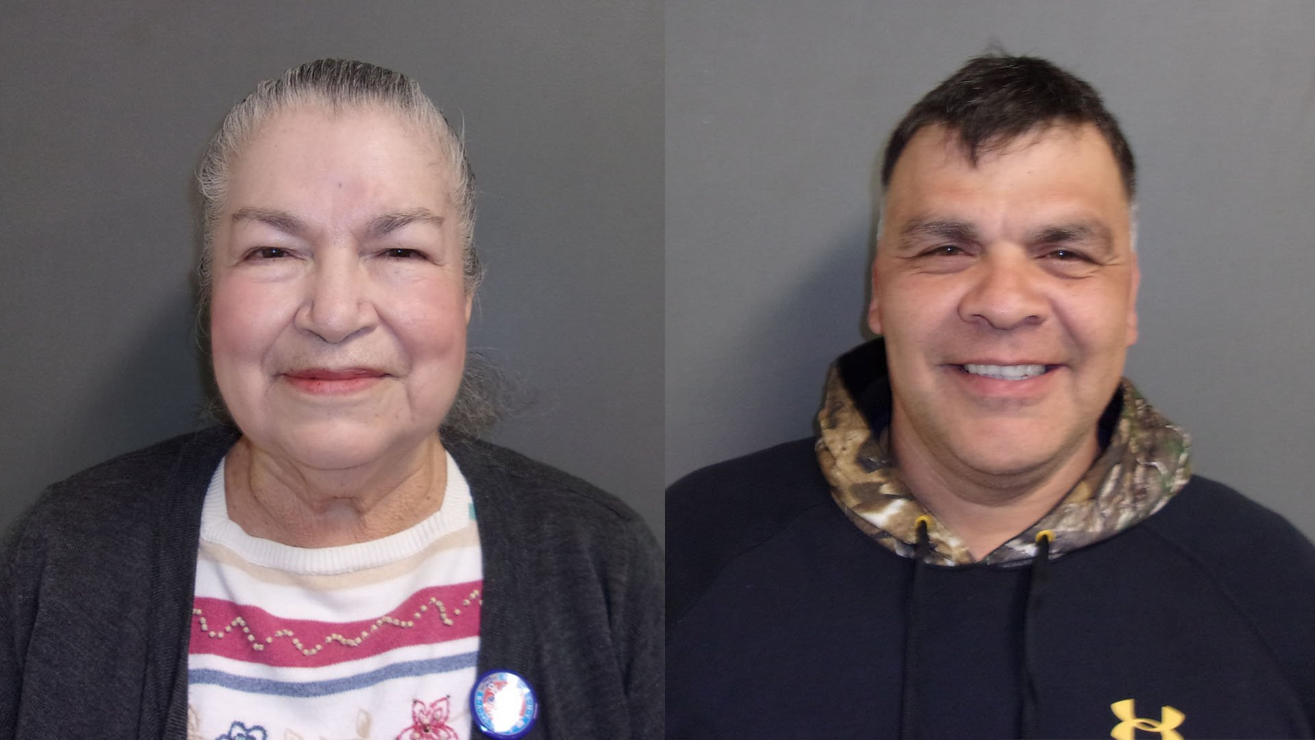 Rosita Flores Torres (left) and Robert Gonzalez (right) have both been arrested on charges of voter fraud.