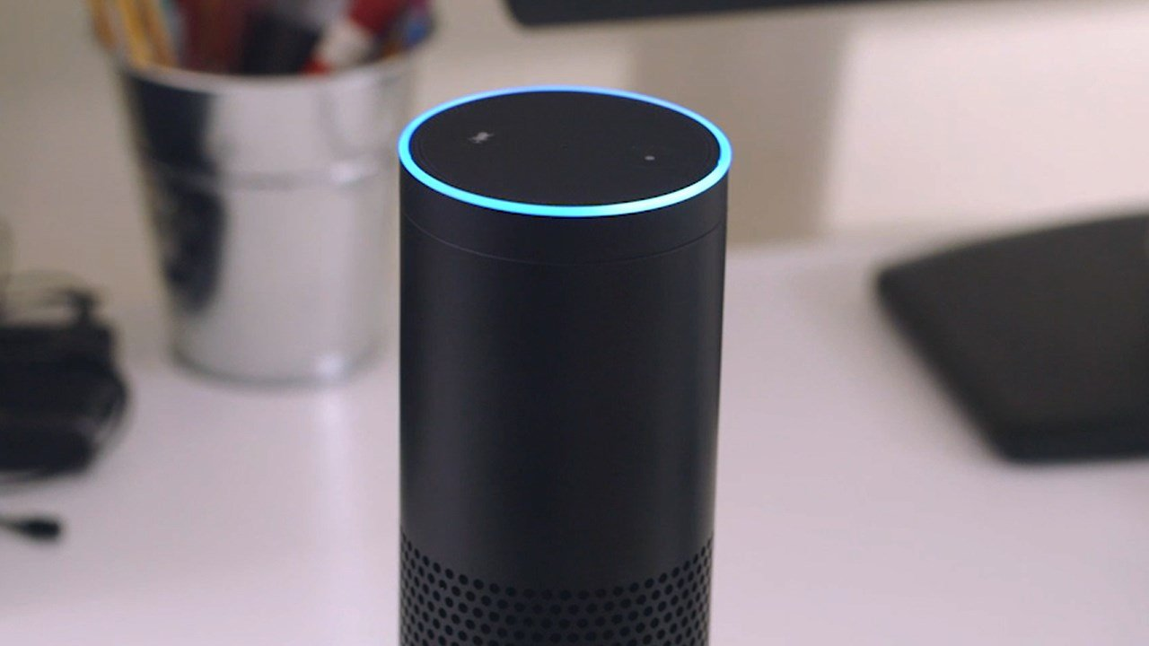 An Amazon Echo, the flagship product featuring virtual assistant Alexa. Photo: Amazon