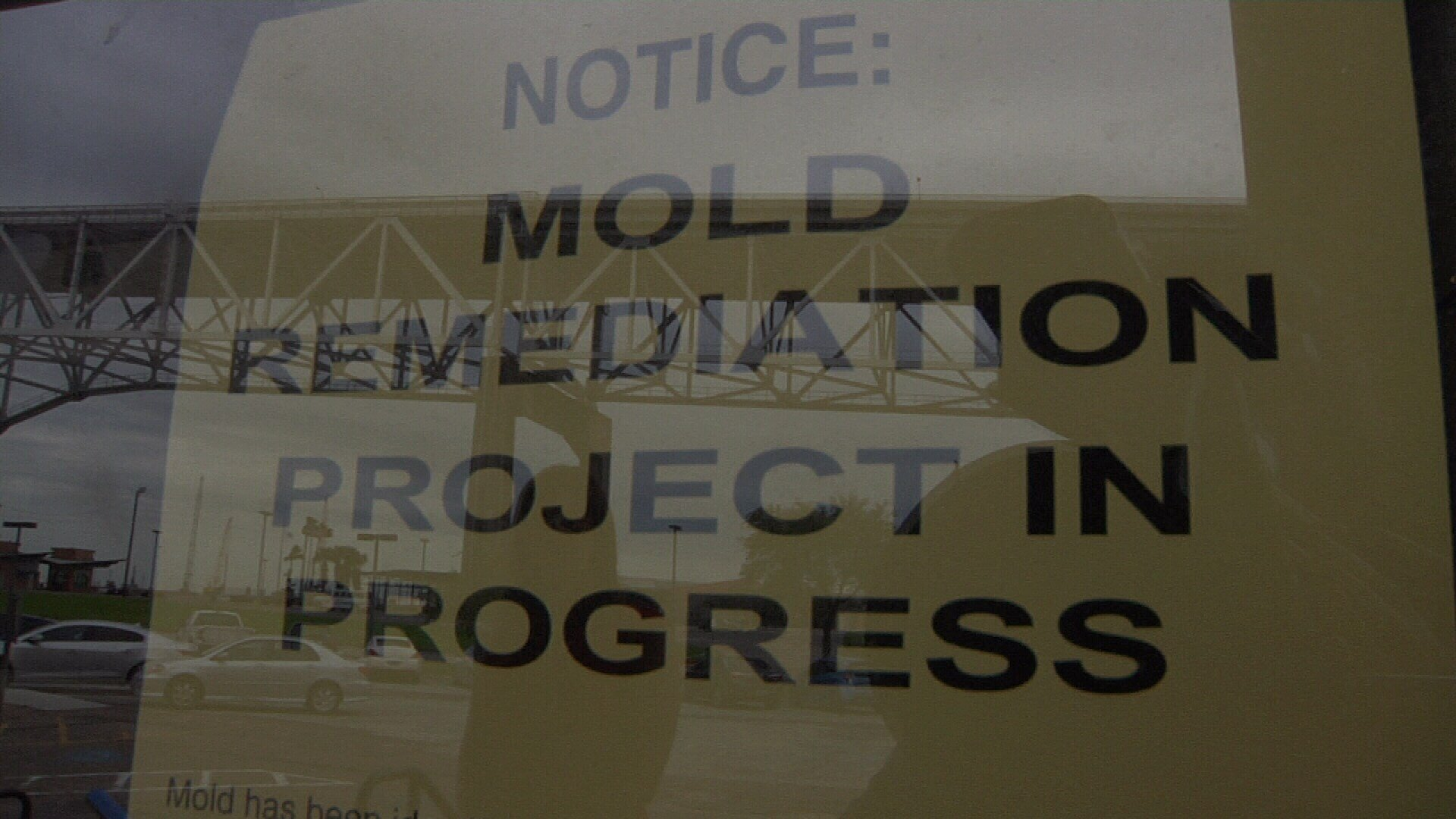 Mold remediation is in progress and city officials say more mold was found in the building this week.