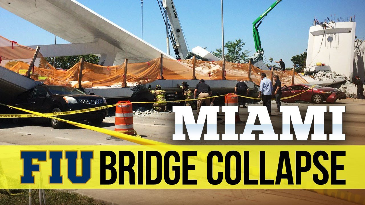Miami bridge collapse: Death toll up to 6; officials seek answers