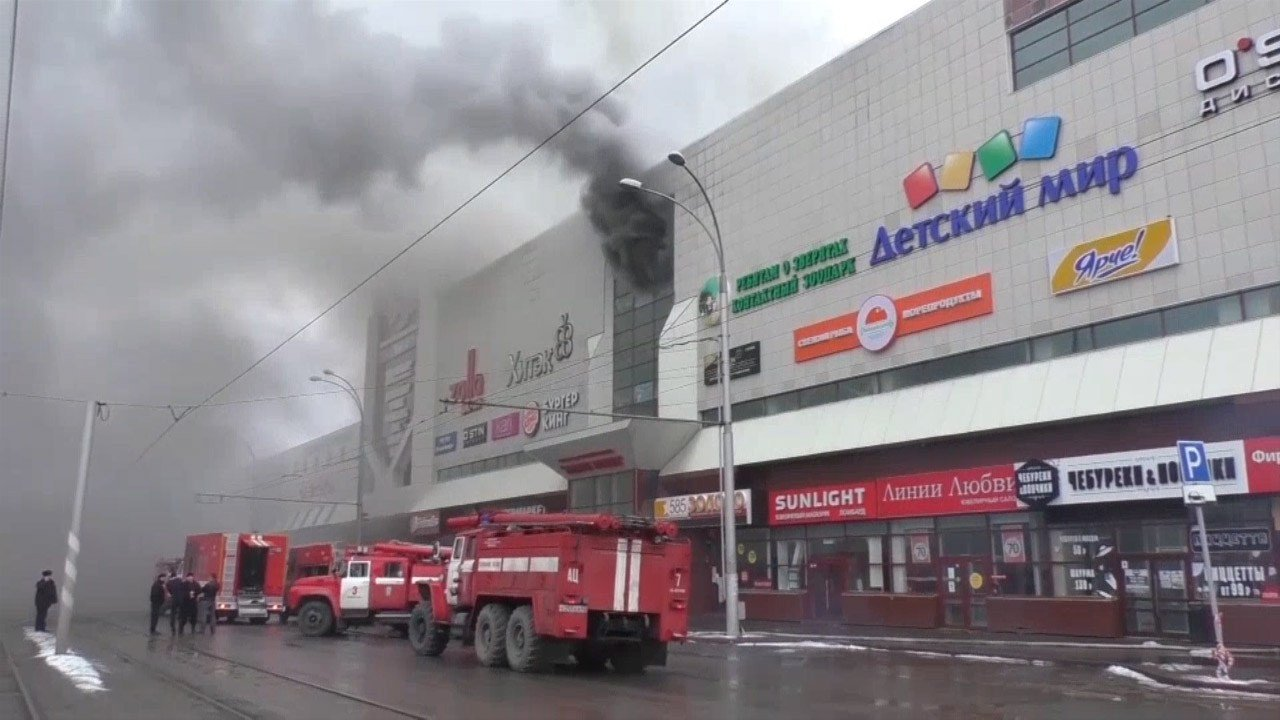 Missing, Including 40 Children, After Shopping Center Fire in Russian Federation