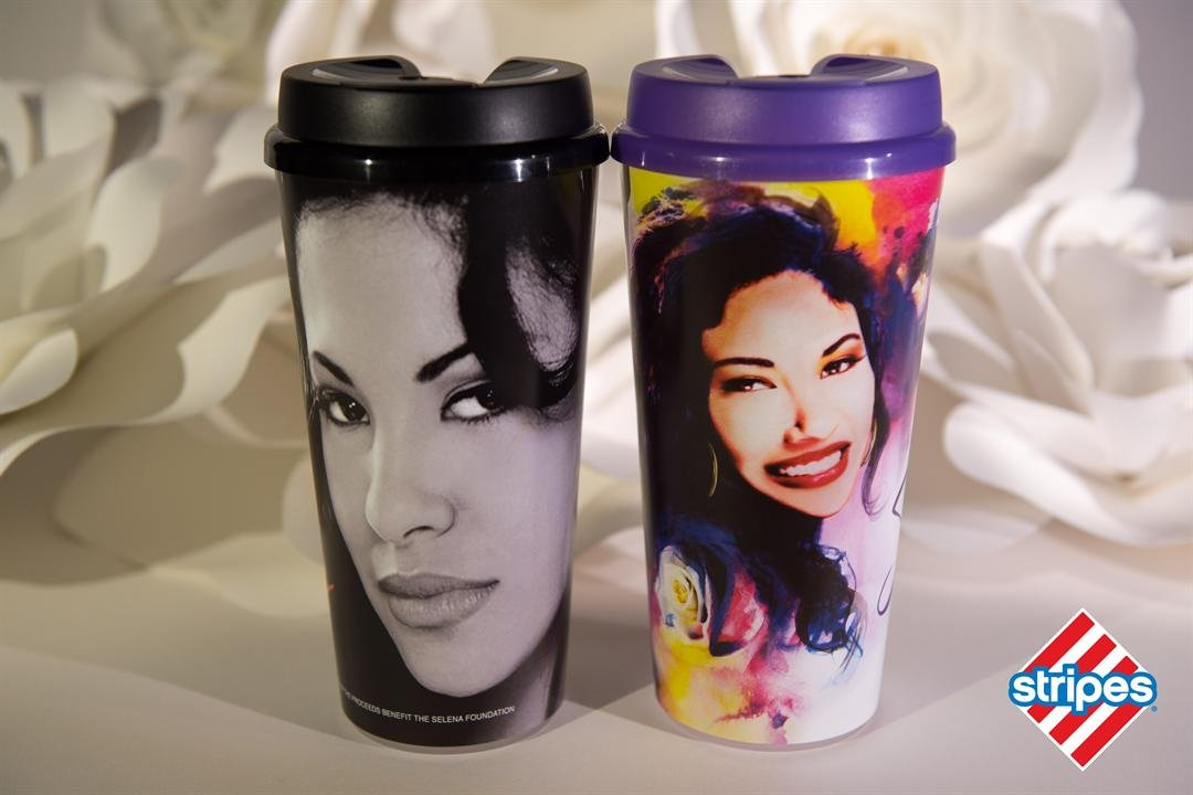 Stripes will sell Selena collectible cups