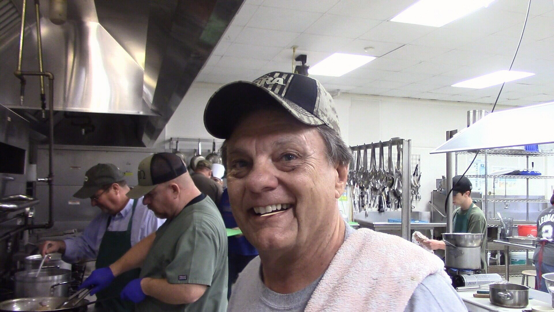 Smokey Neal says the cooking class is the only class he's every enjoyed