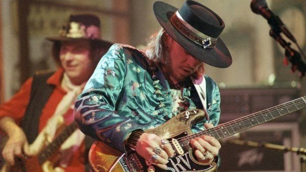 Photo: Stevie Ray Vaughan (Courtesy: www.srvofficial.com)