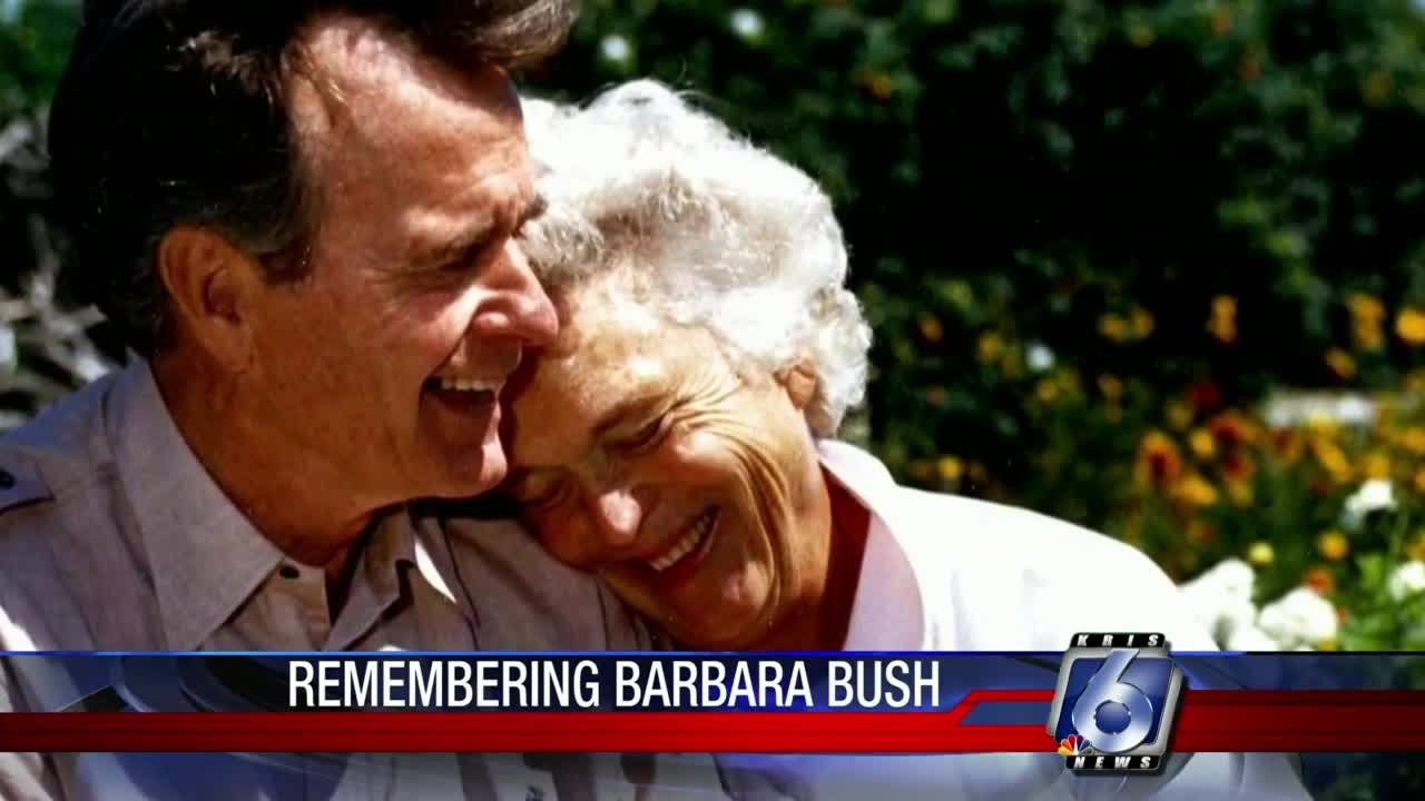 Friends at the top: Elaine Dobbin remembers Barbara Bush as 'gem of a lady'