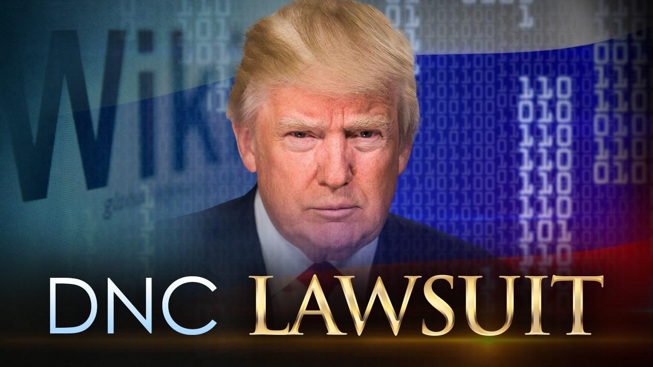 Democrats file lawsuit alleging conspiracy between Trump camp, Russia