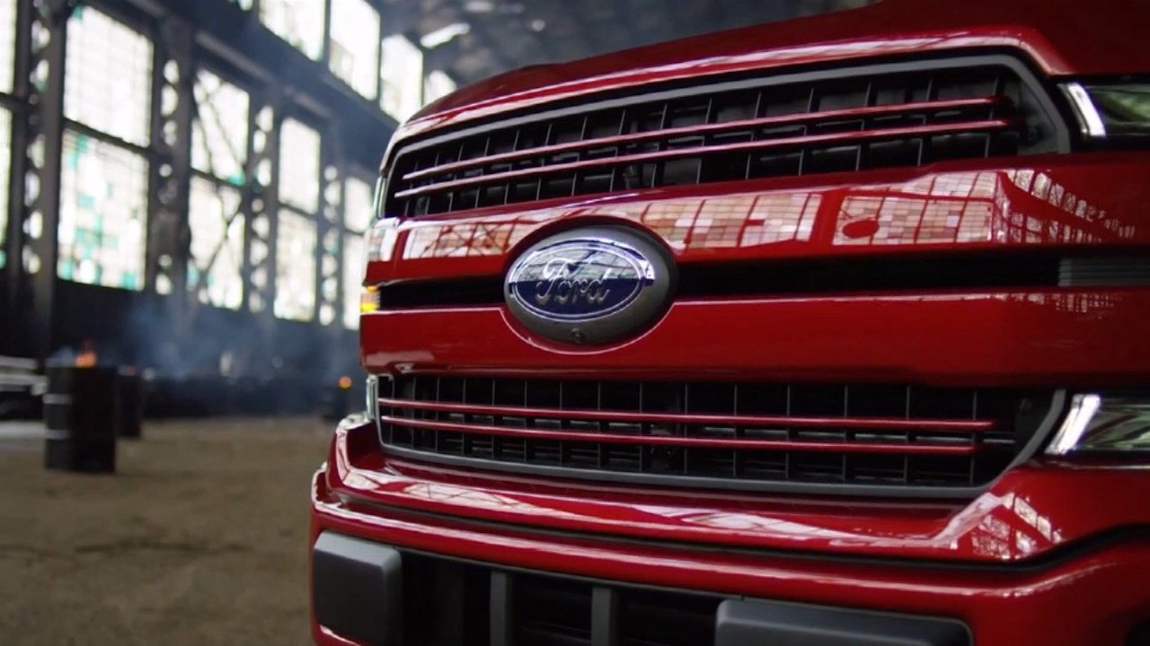 Ford stops F-150 production due to parts shortage
