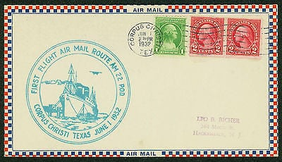 Air Mail service became available in Corpus Christi in the early 1930s