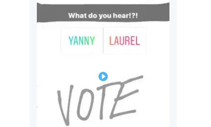 Like the great dress debate, what do you hear? Yanny or Laurel?