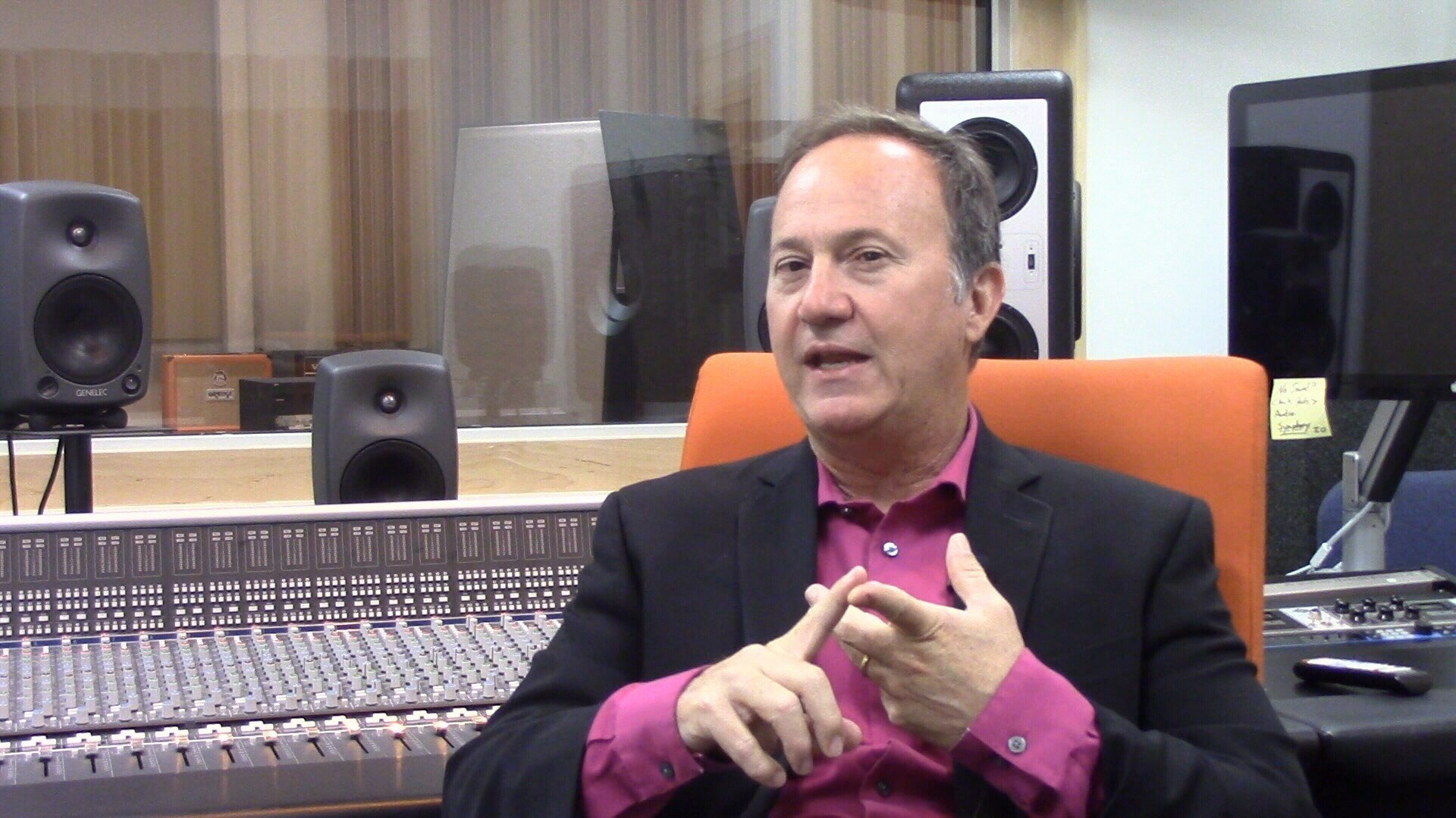 Dr. Paul Bissell heads up the SRT program. He describes it as the intersection of musical skills and technical skills