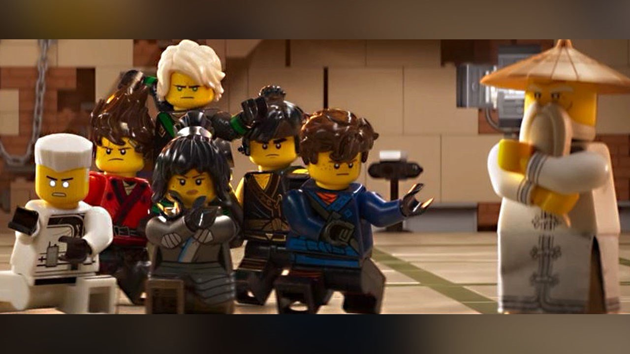 Scene from the 2017 film 'The LEGO Ninjago Movie', Photo Date: 2017 Photo: Warner Bros. Pictures
