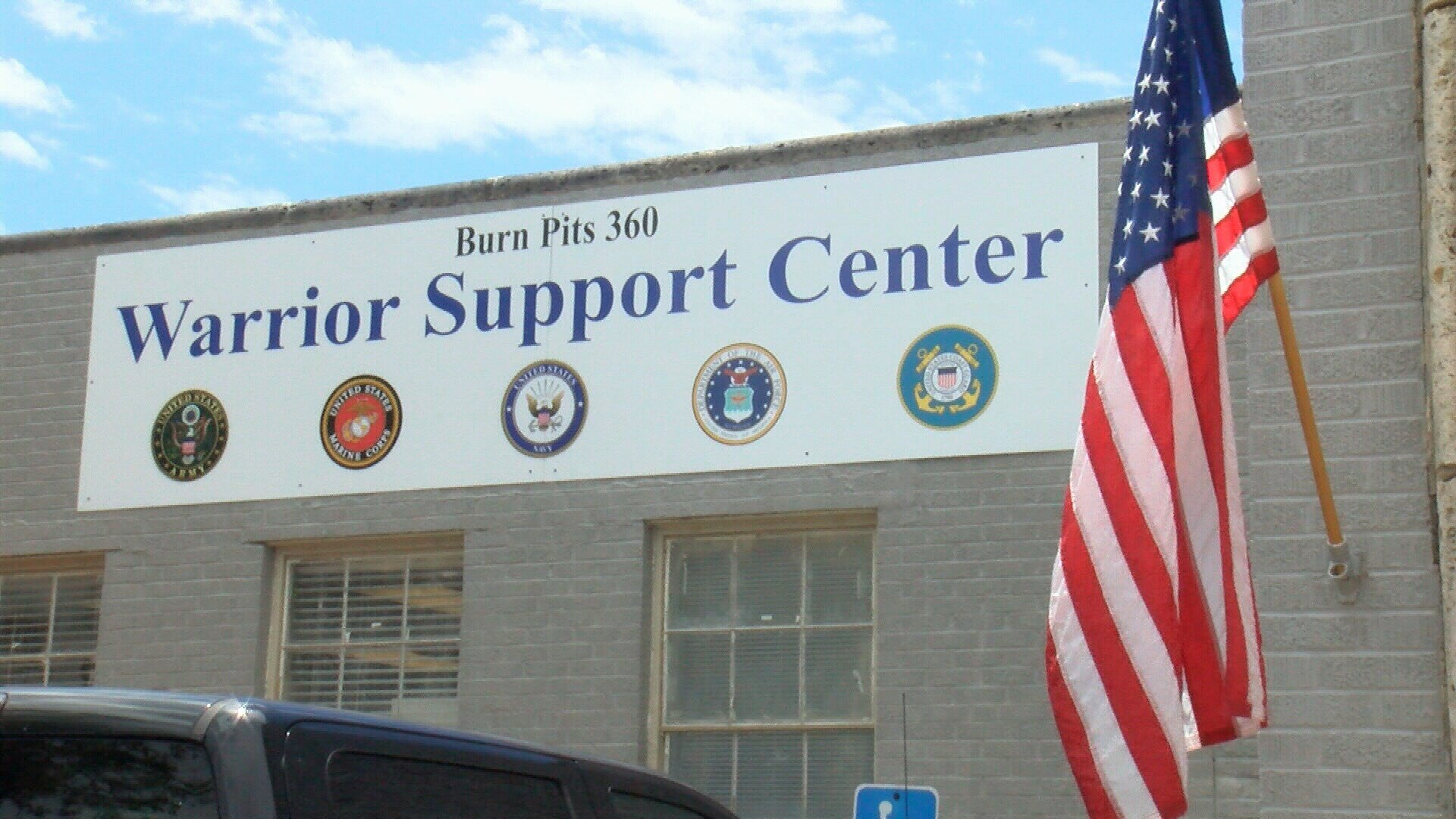 The Warrior Support Center in Robstown opened its doors less than a month ago, but it has already been targeted by a burglar.