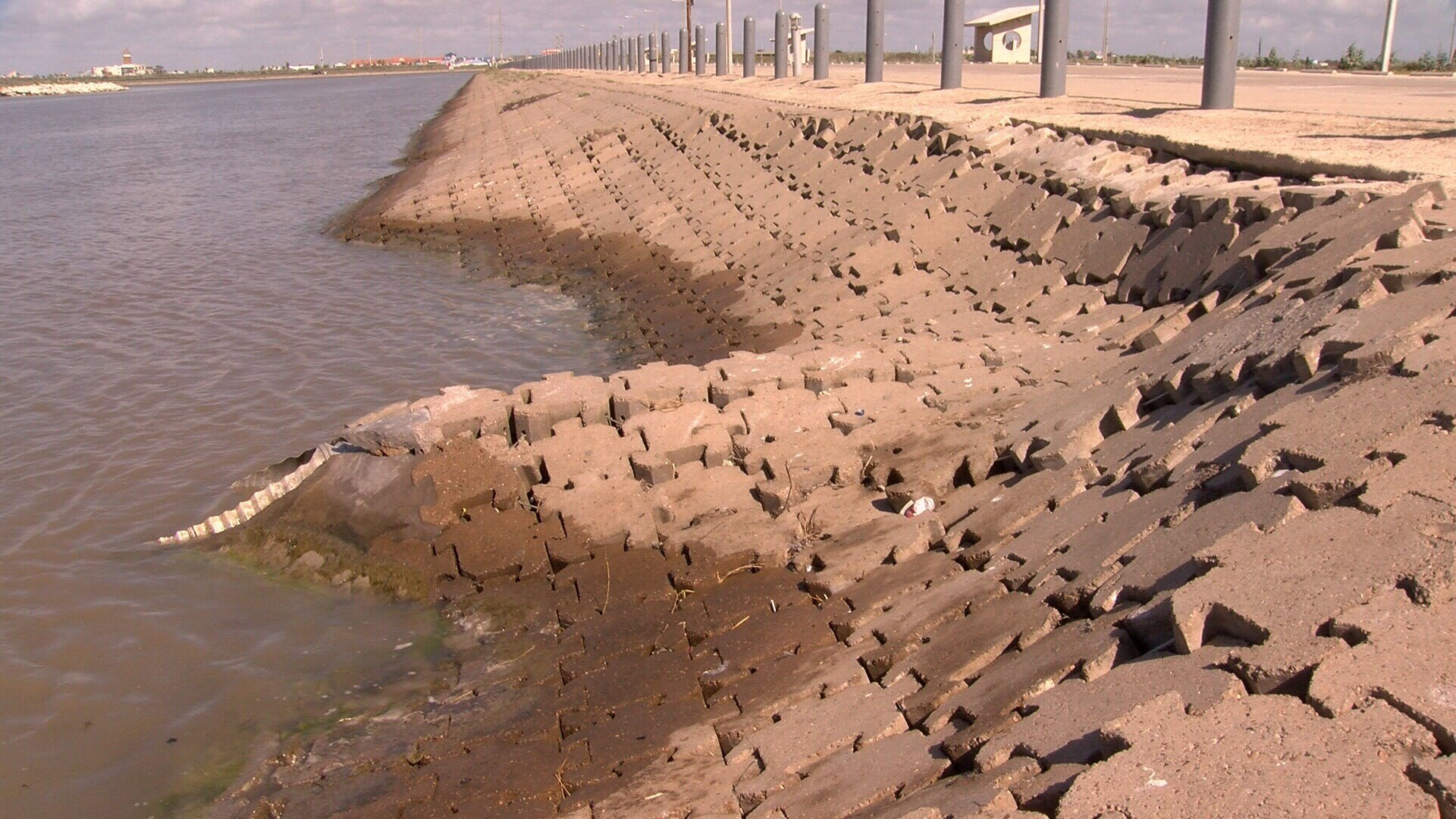 The collapsed walls of the Packery Channel are part of a pattern of re-occurring problems that trace back to its construction. (KRIS 6 News)
